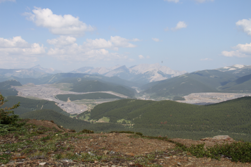 Outside Jasper National Park, a coal mine threatens an